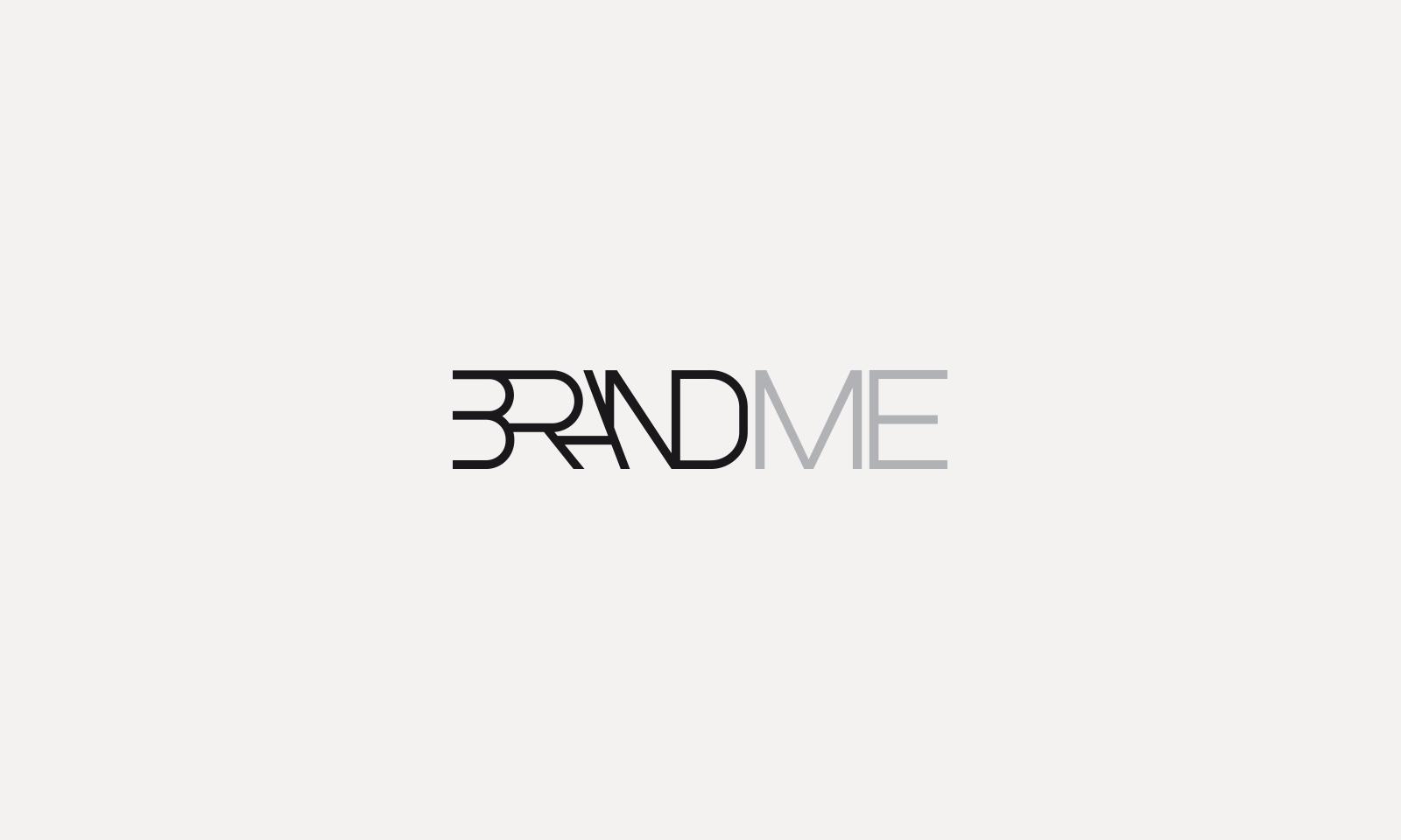 Logo Brand Me | Design Rossomura
