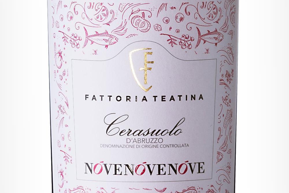 NoveNoveNove-classic-Cerasuolo-d-abruzzo-fattoria-teatina-packaging-design