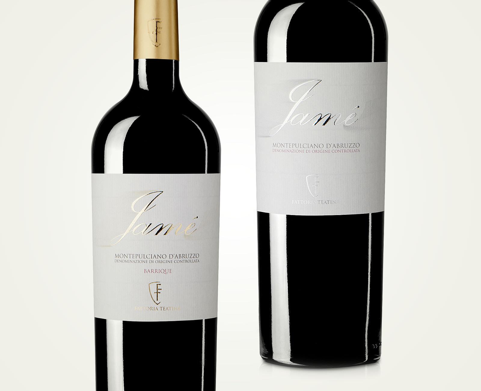 Jamé Montepulciano Packaging Design