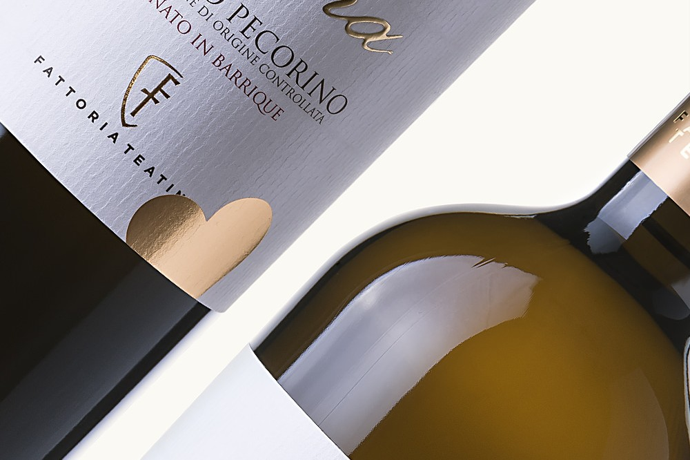 Nenna Pecorino Barrique Packaging Design